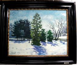 alte Picturi Iarna in parc