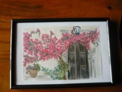 alte Picturi Poarta cu flori