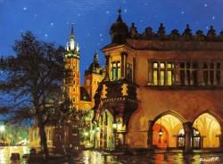 alte Picturi Batranul oras cracow polonia
