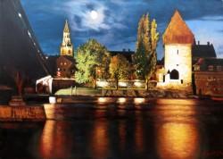alte Picturi Orasul konstanz de pe lacul bodensee