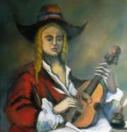 alte Picturi Muzicantul