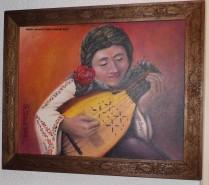alte Picturi Fata cu cobza