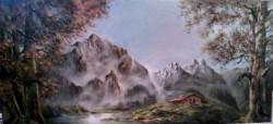 alte Picturi Cabana la munte