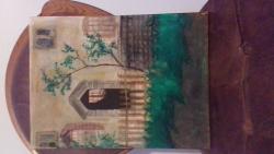 alte Picturi Tablou inspirat din coperta unei carti
