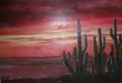 alte Picturi Apus de soare in desert 1