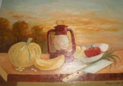 alte Picturi Dovleac si felinar