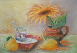 alte Picturi Floarea soarelui cu pere