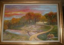 alte Picturi Lacul padurea recea