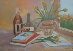 alte Picturi Sticla de cogniac