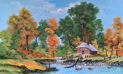 alte Picturi Mica cascada