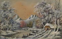 alte Picturi Peisaj de iarna