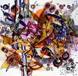 Picturi abstracte/ moderne Acoperis pent