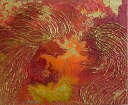 Picturi abstracte/ moderne Aripi Celesti