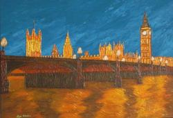 Picturi abstracte/ moderne Big Ben @ 12,