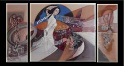 Picturi abstracte/ moderne chip cu esent