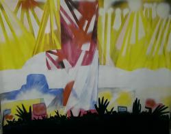 Picturi abstracte/ moderne colectiv-secv
