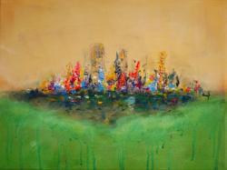 Picturi abstracte/ moderne Culorile vibr