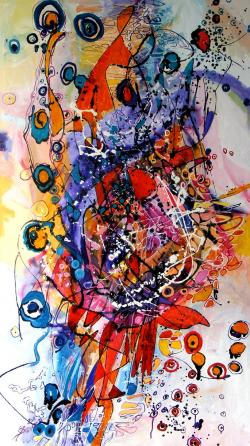 Picturi abstracte/ moderne Drumul Măt