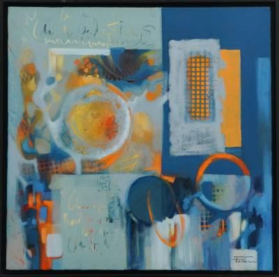 Picturi abstracte/ moderne In memoriam F