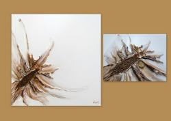 Picturi abstracte/ moderne METALIC FLOWE