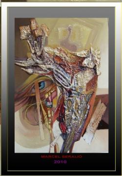 Picturi abstracte/ moderne  ochi cu priv