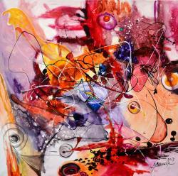Picturi abstracte/ moderne Pestisorul au