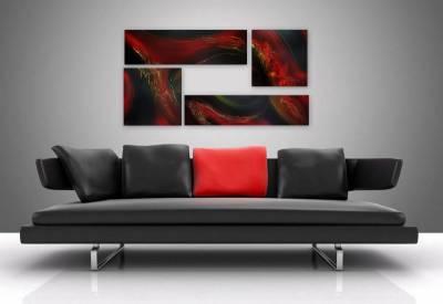 Picturi abstracte/ moderne RUBIN 2