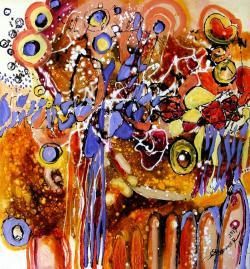 Picturi abstracte/ moderne usi deschise
