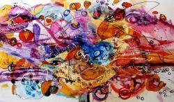 Picturi abstracte/ moderne Vacanta de-o