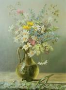 Picturi cu flori Flori de camp in vas de