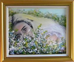Picturi cu flori IN MIROSUL FLORILOR DE