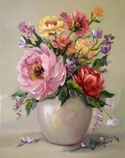 Picturi cu flori MIC POEM DE PRIMAVARA 2