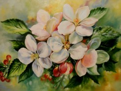 Picturi cu flori Parfum de mar - termina