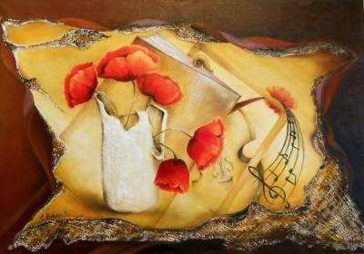 Picturi cu flori Pasiuni