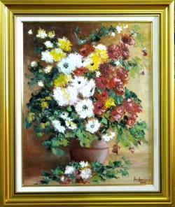 Picturi cu flori SURASUL FLORILOR DE TOA