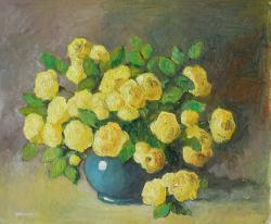Picturi cu flori trandafiri urcatori in