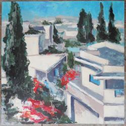 Picturi cu peisaje Acoperisurile Kappare