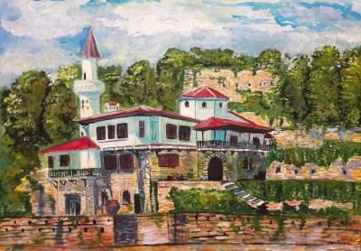 Picturi cu peisaje Balcic 01