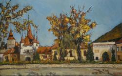 Picturi cu peisaje Brasov, Poarta Ecater