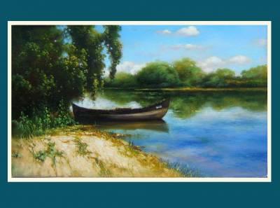 Picturi cu peisaje dunarea albastra