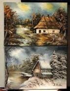 Picturi cu peisaje In miniatura-cadoul i