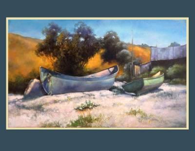 Picturi cu peisaje pescaria din mamaia