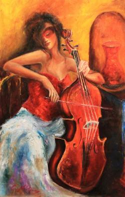 Picturi cu potrete/nuduri ARMONII IN ROS