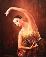 Picturi cu potrete/nuduri Balerina bella