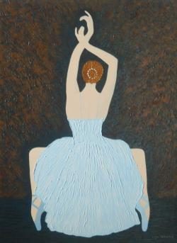 Picturi cu potrete/nuduri Before The Sho