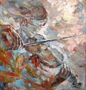 Picturi cu potrete/nuduri Cantecul toamn