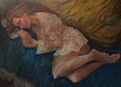 Picturi cu potrete/nuduri DREAMING IN BL