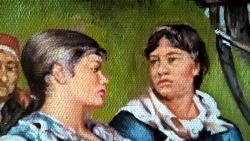 Picturi cu potrete/nuduri DUP-O ZI DE MU