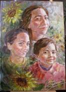 Picturi cu potrete/nuduri Florile caroli