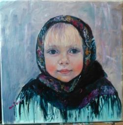 Picturi cu potrete/nuduri Iarna de jucă
